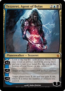 Tezzeret, Agent of Bolas