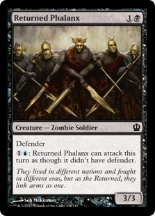 Returned Phalanx